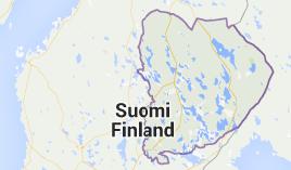 Itä-Suomen lääni viehekalastusmaksu lupa-aluekartta