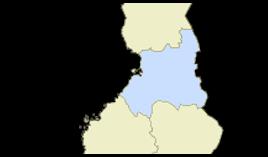 Oulun lääni viehekalastusmaksu lupa-aluekartta